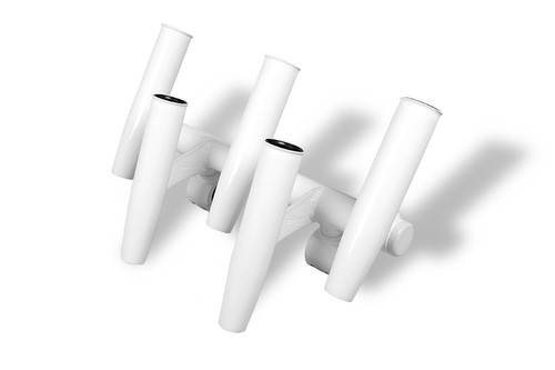 T-Top 5 Rod Rocket Launcher - Powder Coated White