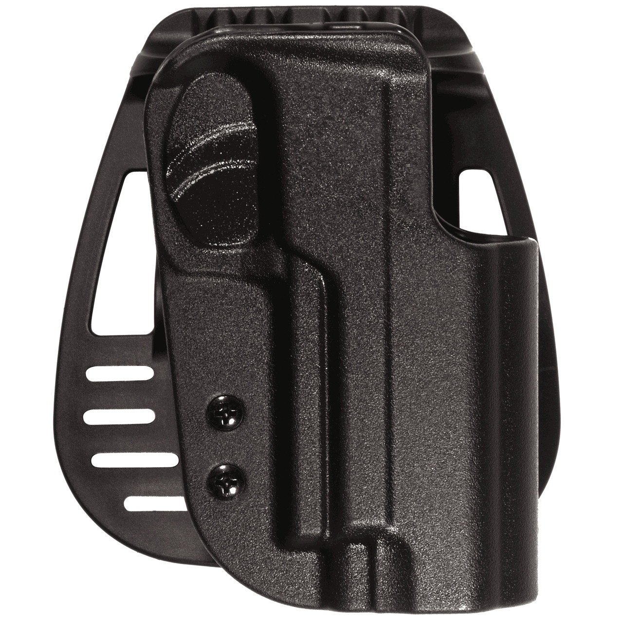 Uncle Mike's Kydex Paddle Holster, Fits Glock 20/21, Right Hand, Black  5425-1, UPC : 043699542512