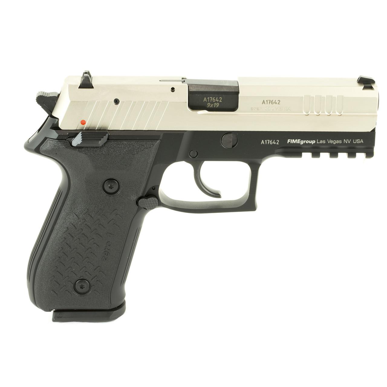 Fime Group Rex Zero 1S, Semi-automatic Pistol, DA/SA, 9MM, 4 3