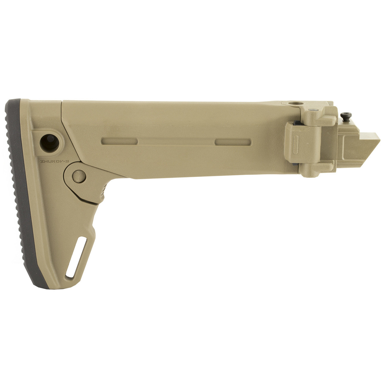 Magpul Industries Zhukov-S Stock, Fits AK Rifles Except Yugo Pattern AKs or  Norinco Type 56s/MAK90 Rifles, Flat Dark Earth Finish, 5-Position Length
