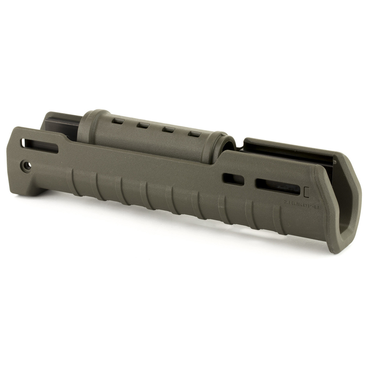 Magpul Industries Zhukov-U Handguard, Fits AK varients Except Yugo Pattern  Rifles or RPK Style Receivers, OD Green Polymer, 1 5