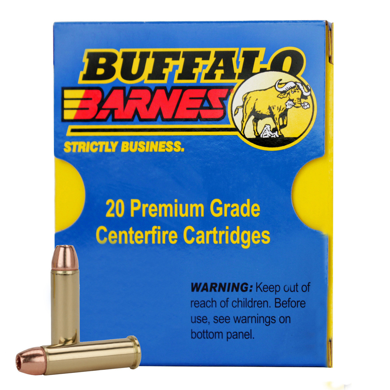 Buffalo Bore Ammunition 38 Special +P 110 Grain Barnes TAC-XP Hollow Point  Lead-Free Box of 20, UPC :651815020273