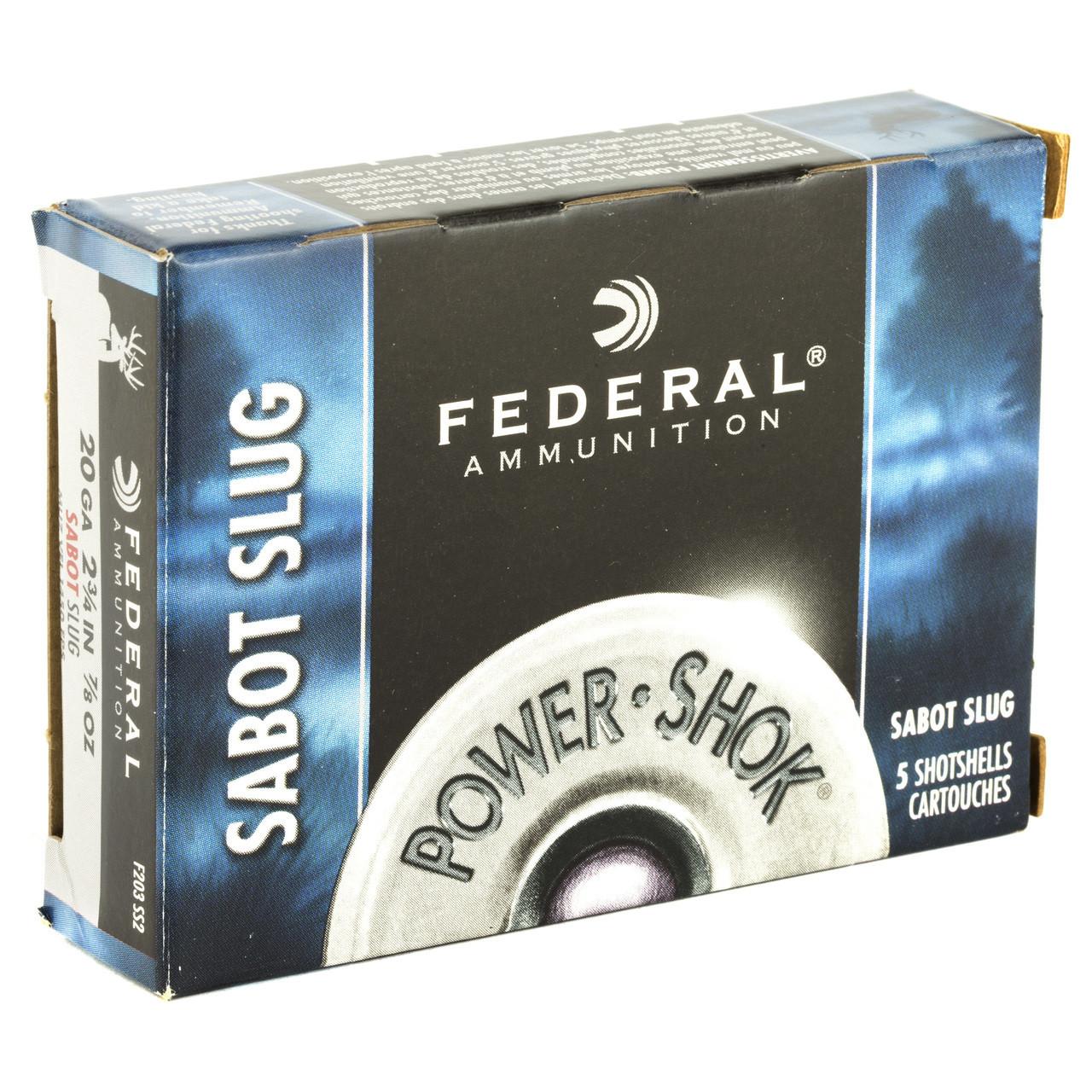 Federal PowerShok, 20 Gauge, 2 75