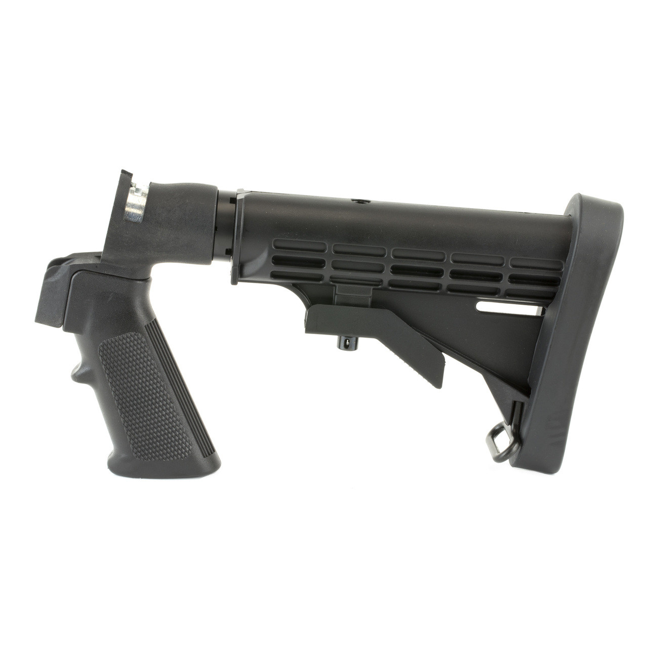 Mossberg Stock, Synthetic, Blk, 6-Pos Adjustable Stock, Flex Series 95219,  UPC : 015813952194