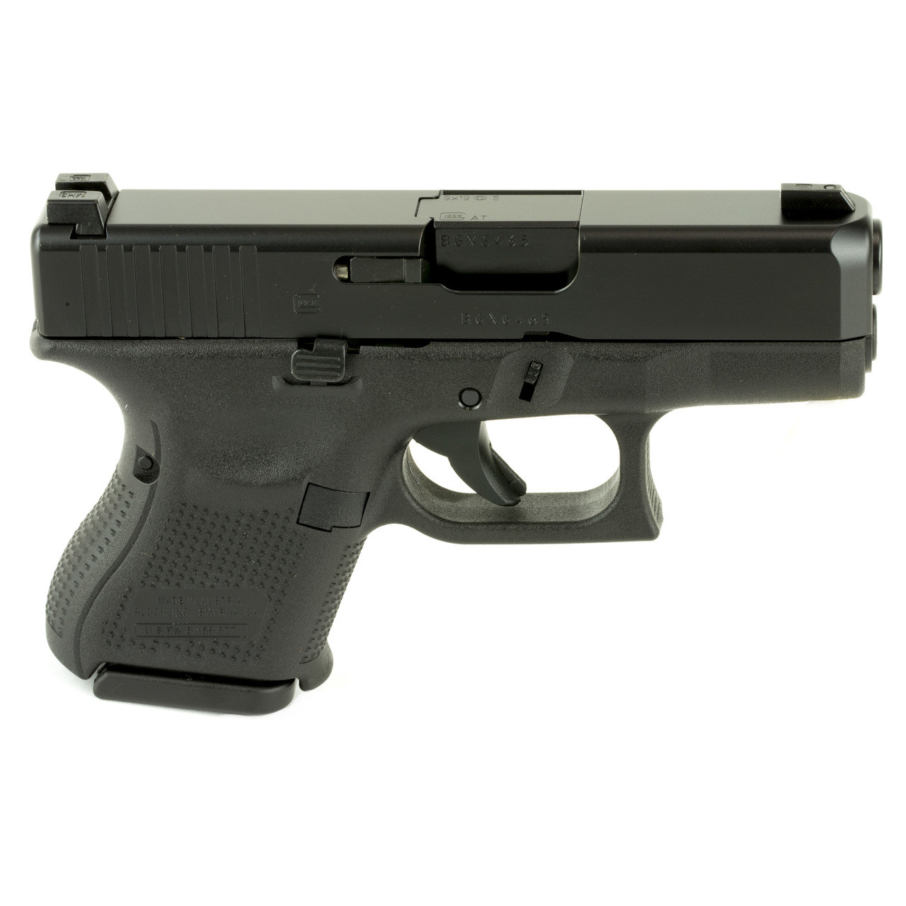 Glock 26 Gen 5, Safe Action, Sub Compact Pistol, 9MM, 3 42