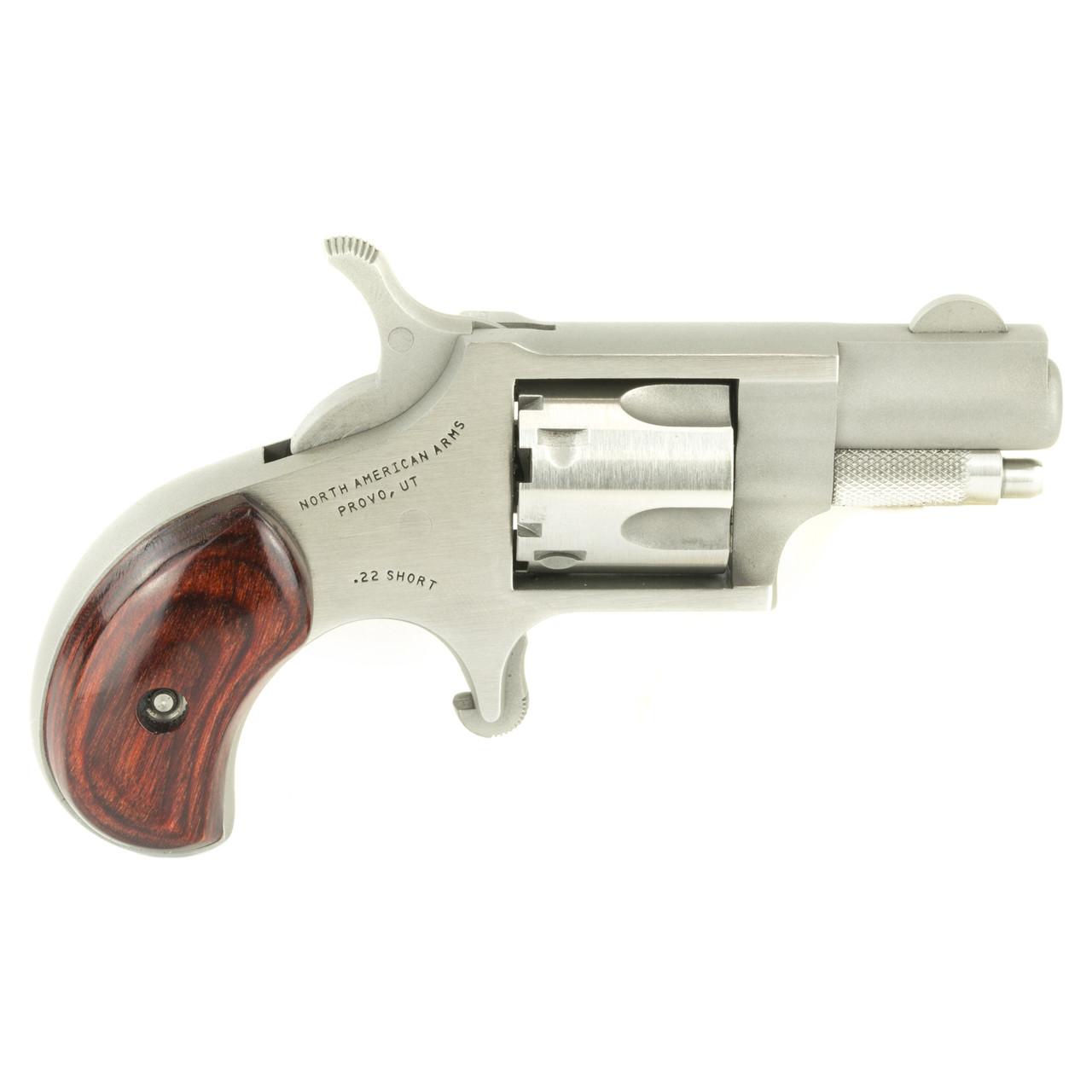 North American Arms Mini Revolver, Single Action, 22 Short, 1 125