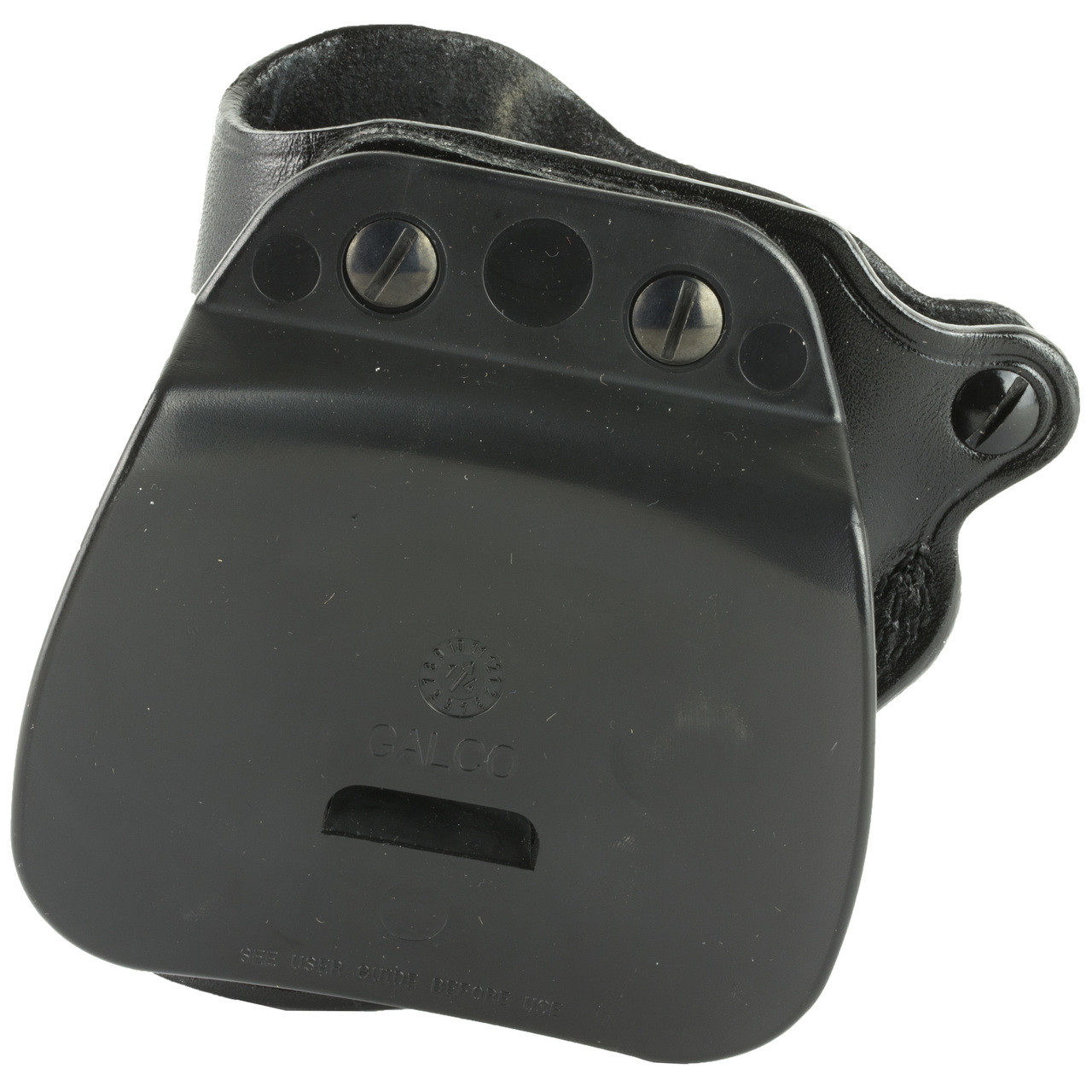 Galco Speed Paddle Holster, Fits Ruger LCR, Right Hand, Black Leather  SPD300B, UPC :601299128217