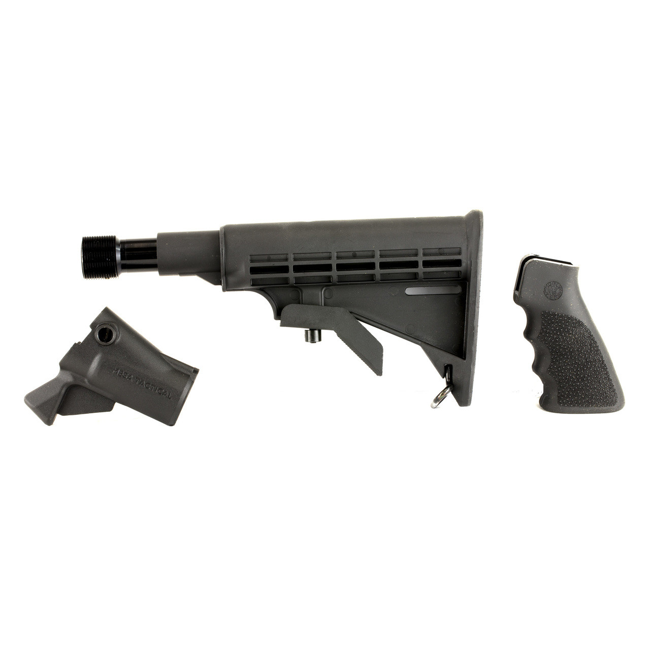 Mesa Tactical LEO Recoil Stock Kit , Fits Remington 870 12 Gauge, Includes  LEO Stock Adapter, Enidine Recoil Buffer, Standard A2 Collapsible Stock,