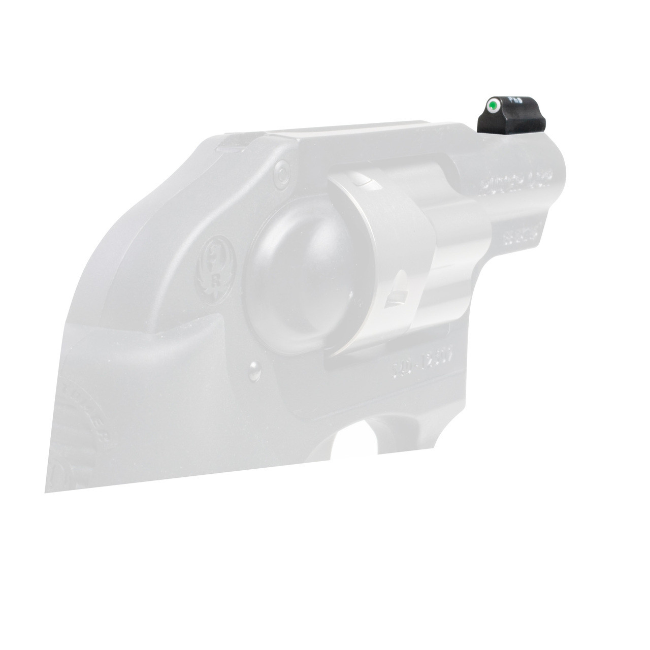 XS Sights XS Sights, Standard Dot Tritium, Front Sight, Fits Ruger LCR,   38/ 357 Only, Not  22 or 9mm, Green with White Outline RP-0008N-4, UPC