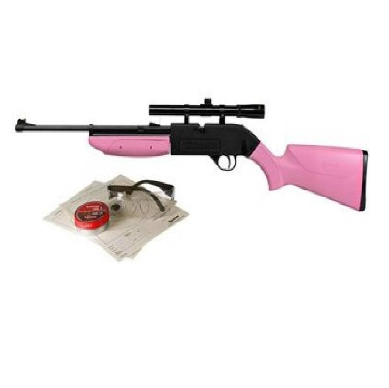 Crosman Pink 760 Pumpmaster Package 760PKT, UPC : 028478133747