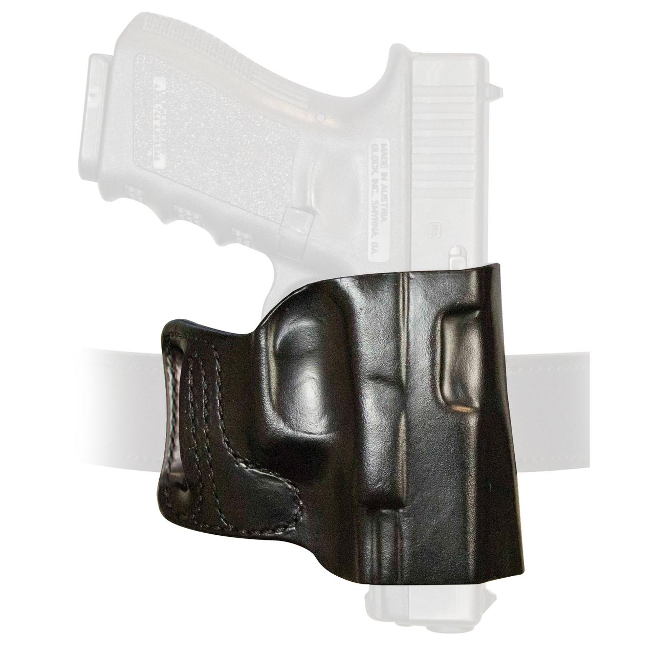 DeSantis 115BAB2Z0 E-GAT Slide Belt Holster RH Black Fits Glock 17//19//22//23