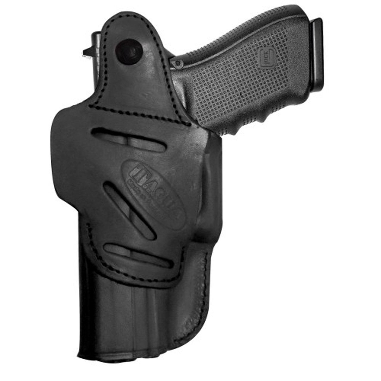 Tagua IPH4 4 In 1 Inside the Pant Holster, Fits Kel Tec, Ruger LCP, Right  Hand, Black IPH4-010, UPC :889620133899