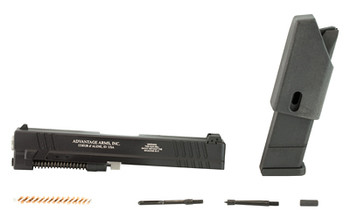 """Advantage Arms Conversion Kit, 22LR, 4.49"""" Barrel, Fits Springfield Armory XD 9/40, Non-XDM Frames Only, Does Not Fit 3"""" Sub-compact, With Cleaning Kit, Black Finish, 10Rd, 1-10Rd Magazine XD940-4, UPC : 094308002002"""