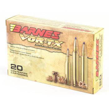 Barnes VOR-TX, 30-06, 168 Grain, Tipped Triple Shock X, Boat Tail, Lead Free, 20 Round Box 21565, UPC :716876130672