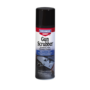 Birchwood Casey Gun Scrubber Synthetic Safe Cleaner, Aerosol, 13 oz., 6 Pack 33344, UPC : 029057333442