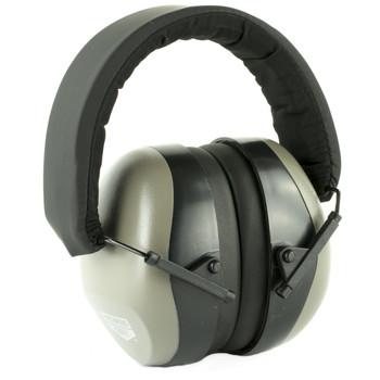 Birchwood Casey Krest Passive Ear Muffs, Gray, 1 Pair 43215, UPC : 029057432152