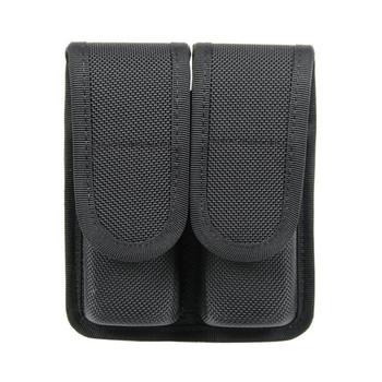 BLACKHAWK! Duty Gear Molded, Double Magazine Pouch - Double Row, Cordura, Black 44A001BK, UPC :648018032592