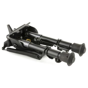 "BLACKHAWK! Sportster Adjustable Pivot Bipod, 6-9"", Black 71BP05BK, UPC :648018171352"