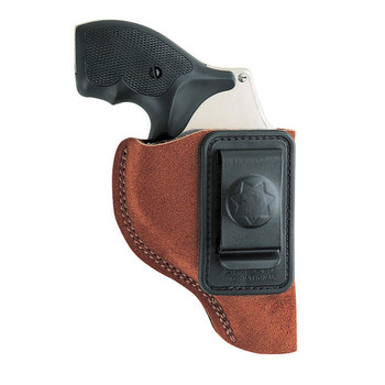 "Bianchi Model #6 Inside the Pant Holster, Fits J-Frame With 2"" Barrel, Right Hand, Suede 10380, UPC : 013527103802"