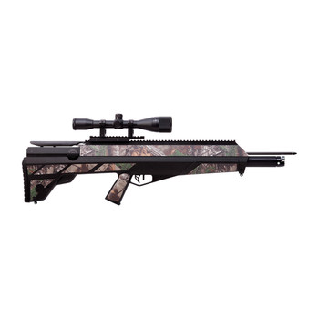 Benjamin Sheridan Pioneer AIRBOW, PCP Powered, Black, Includes Realtree AP Camo Decals, 3 Custom Arrows with Field Tips, 6x40mm Scope, Sling and Quiver, 450 Feet per Second BABPNBX, UPC : 028478148772