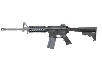 "Colt's Manufacturing LE6920 SOCOM, Semi-automatic, 556NATO/223REM, 16"" 4150 CMV Barrel, Black Finish, 4 Position Collapsible Stock, 30Rd LE6920SOCOM, UPC : 098289019462"