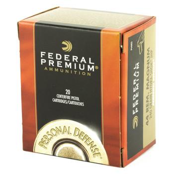 Federal Hydra-Shok, 44MAG, 240 Grain, Hollow Point, 20 Round Box P44HS1, UPC : 029465088422