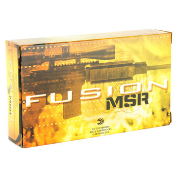 Federal Fusion, 308WIN, 150 Grain, Soft Point, 20 Round Box F308MSR1, UPC : 029465064082