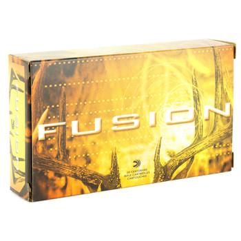 Federal Fusion, 7MM-08, 140 Grain, Boat Tail, 20 Round Box F708FS1, UPC : 029465098612