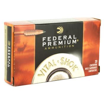 Federal Vital-Shok, 270WIN, 130 Grain, Trophy Copper, Lead Free, 20 Round Box P270TC1, UPC : 029465063412