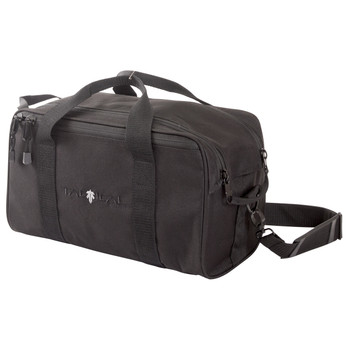 "Allen Sporter Range Bag, Black Endura Fabric, 15""x12""x9"",External MOLLE Web System, Two Removeable Handgun Rugs, Removeable Sholder Strap With Metal Hardwar, Large External Accessory Pockets, Dual Zipper Opening 10851, UPC : 026509010982"