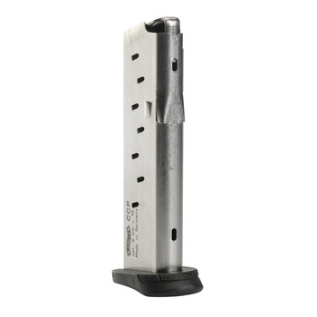 Walther Magazine, 9MM, 8Rd,  Fits Walther CCP, Black 50860002, UPC :723364207402