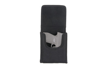 Bulldog Cases Cell Phone Belt Holster, Black, Nylon, Size Small BD848, UPC :672352008562