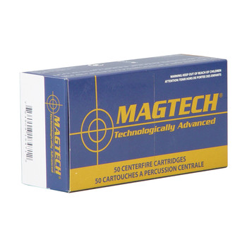 Magtech Sport Shooting, 38 Super, 130 Grain, Full Metal Case Flat +P, 50 Round Box 38S, UPC :754908184712