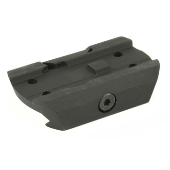 Black Spider LLC Mount, Fits Black Spider Optics M0129 Red Dot Sight, Black Finish, Proprietary Mount to Adapt Your M0129 Red Dot from a Lower 1/3(AR-15 Mount) to a Low Position 0129LM, UPC :865887000112