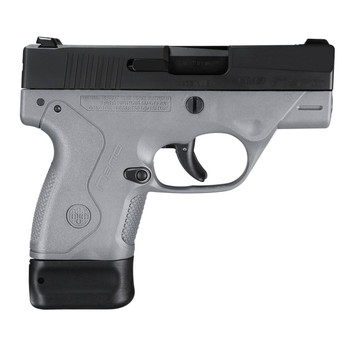 "Beretta NANO, Semi-automatic, Striker Fired, Sub Compact Pistol, 9MM, 3.07"" Barrel, Polymer Frame, Gray Finish, 6Rd & 8Rd, 2 Mags, 3 Dot Sights JMN9S95, UPC : 082442893112"