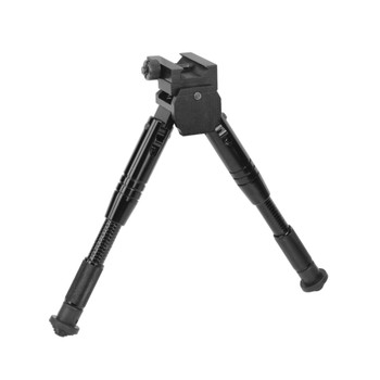 Caldwell Prone Bipod, Attaches to Picatinny Rail, Fits AR Rifles, Black 531123, UPC :661120311232