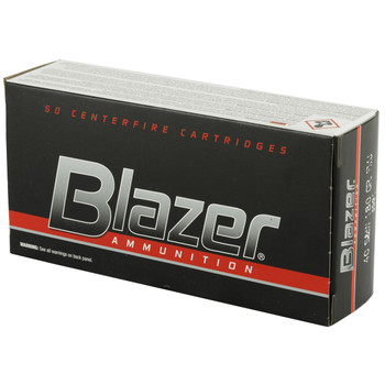 CCI/Speer Blazer, 40 S&W, 180 Grain, Full Metal Jacket, 50 Round Box 3591, UPC : 076683035912