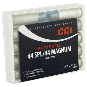 CCI/Speer Shotshell, 44MAG, 140 Grain, Shotshell, #9 Shot Size, 10 Round Box 3744, UPC : 076683037442