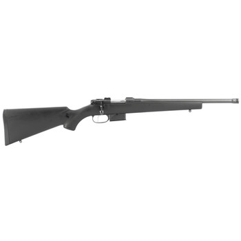 """CZ 527 American  Suppressor Ready, Bolt Action, 300 Blackout, 16.5"""" Threaded Hammered Forged Barrel, Blued Finish, Synthetic Stock, 5Rd, 5/8x24 Pitch, 1"""" Steel Scope Rings Included 03085, UPC :806703030852"""