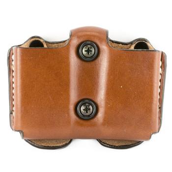 Desantis Double Magazine Pouch, Glock 26/27, Ambidextrous, Tan Leather A01TJIIZ0, UPC :792695233862