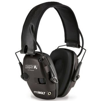 Howard Leight Impact Sport Bolt, Electronic Earmuff, Folding, Black R-02525, UPC : 033552025252