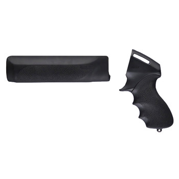 Hogue Grips Tamer, Pistol Grip And Forend, Fits Remington 870, Black 08715, UPC :743108087152