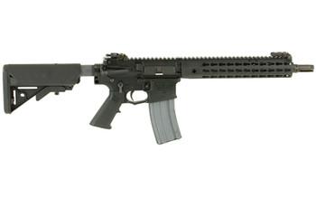 "Knights Armament Company SR-15, E3 CQB Mod2, Semi-automatic Rifle, 223 Rem/556NATO, 11.5"" Chrome Lined Hammer Forged Barrel, 1:7 Twist, Black Finish, SOPMOD Stock, URX4 Keymod Free Float Rail, 30Rd, 2 Stage Match Trigger, 3-Prong Flash Hider, Improve"