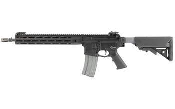 """Knights Armament Company SR-15, E3 Carbine Mod2, Semi-automatic Rifle, 223 Rem/556NATO, 14.5"""" Chrome Lined Hammer Forged Barrel, 1:7 Twist, Black Finish, Magpul MOE Stock, Upper Receiver Extending Free Floating Barrel System, 30Rd, 2 Stage Match Trig"""