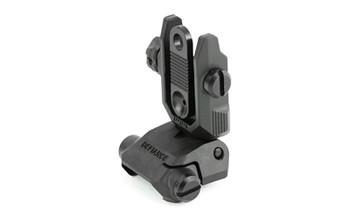 KRISS USA, Inc Sight, Picatinny, Black, Folding Rear, Polymer DA-PRSBL00, UPC :810237027332