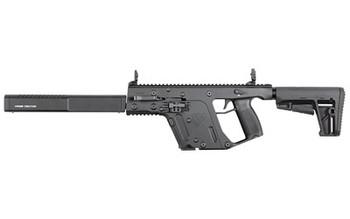 "KRISS USA, Inc VECTOR CRB, Gen II, Semi-automatic Rifle, 9MM, 16"" Barrel, Black Finish, DEFIANCE KRISS Stock, Back-Up Front & Rear Sight, Threaded, 1-17Rd Magazine KV90-CBL20, UPC :810237023082"