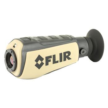 FLIR Scout III Thermal Monocular,640 x 512 VOx Microbolometer, 2X & 4X Zoom, Black Hot, White Hot, Insta Alert and Graded Fire, Tan Finish 431-0019-31-00, UPC :812462021062