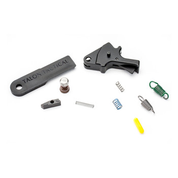 Apex Tactical Specialties Flat-Faced Forward Set Trigger Kit, Works with Smith & Wesson M&P Pistols. Does Not Function With M&P M2.0, M&P Shield, BodyGuard, 22 or 22 Compact Pistols 100-054, UPC :856008005512