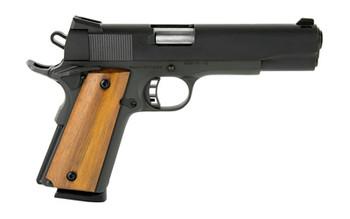 "Armscor Rock Island 1911, Full Size Pistol, 45ACP, 5"" Barrel, Steel Frame, Blue Finish, Rubber Grips, Fixed Sights, Ambidextrous Safety, 1 Magazine, 8 Rounds 51431, UPC :4806015514312"