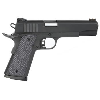 "Armscor Rock Island 1911, Full Size Pistol, 45ACP, 5"" Barrel, Alloy Frame, Blue Finish, VZ Tactical Grips, Adjustable Sights, 8Rd 51486, UPC :4806015514862"